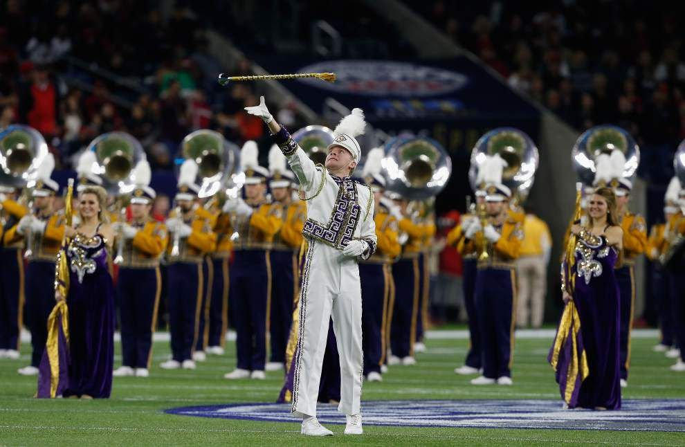 New LSU policy bans opponents' marching bands from halftime performances at Tiger Stadium _lowres