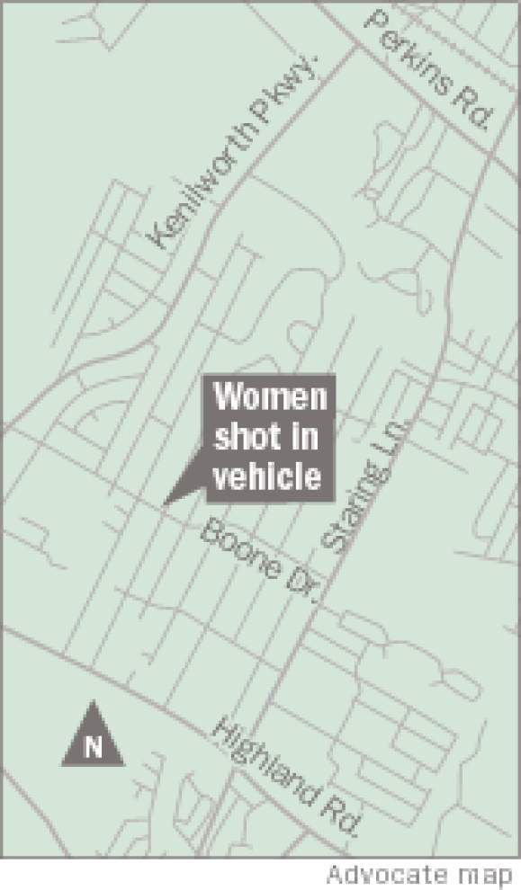 Two women found inside a car parked on the side of Boone Drive died of gunshot wounds to the head _lowres
