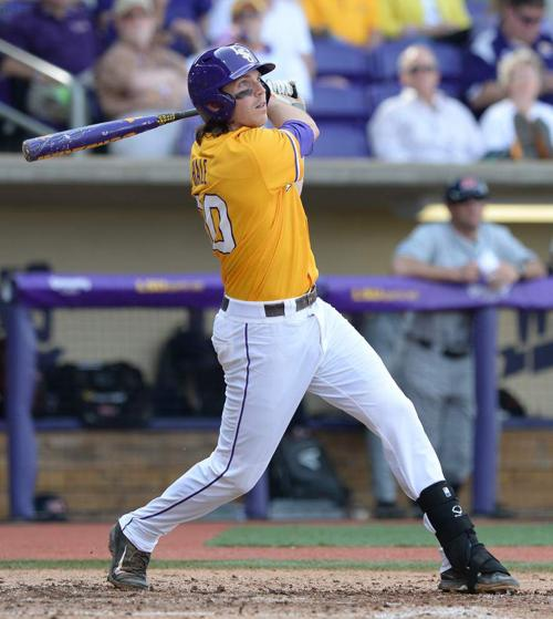 LSU baseball notebook: Now in the cleanup spot, Conner Hale keeps hitting _lowres
