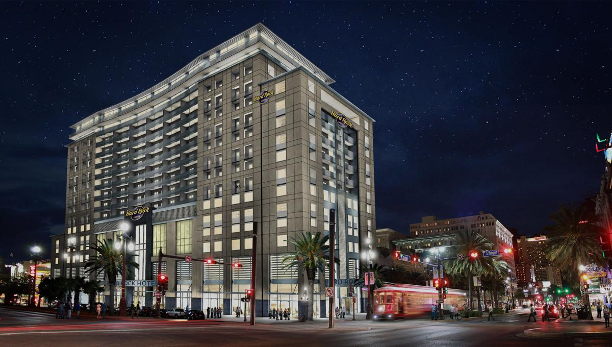 Plans Unveiled For Hard Rock Hotel New Orleans 18 Floors