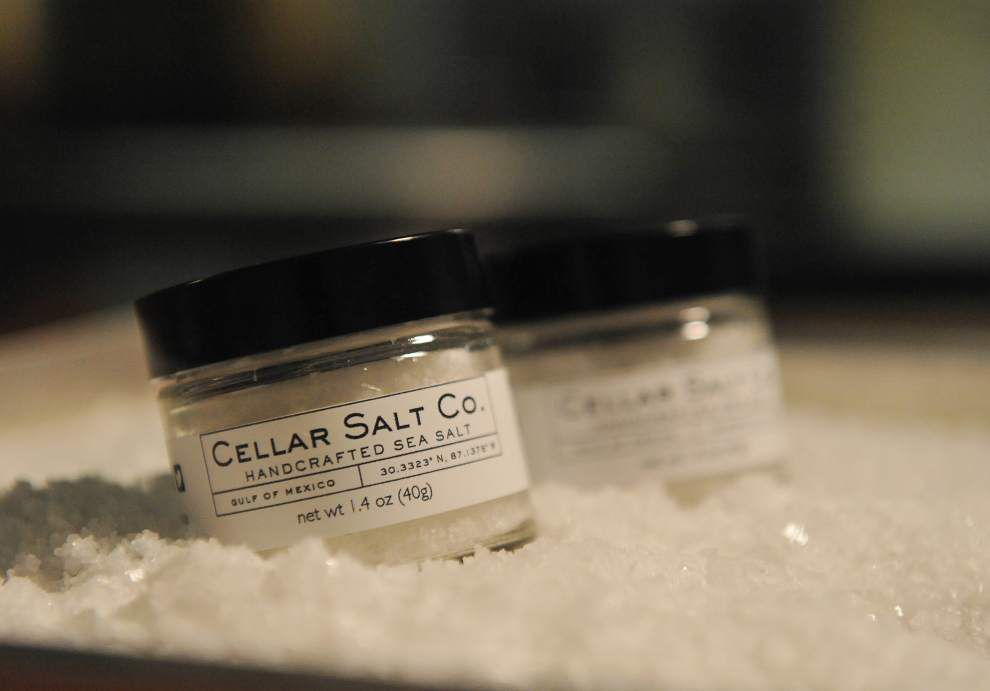 He sells sea salt from the sea shore: Lafayette chef looking to expand business opportunities in sea salt _lowres