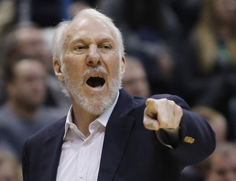 Pelicans face a tall task: Handing the Spurs their first home loss this season _lowres