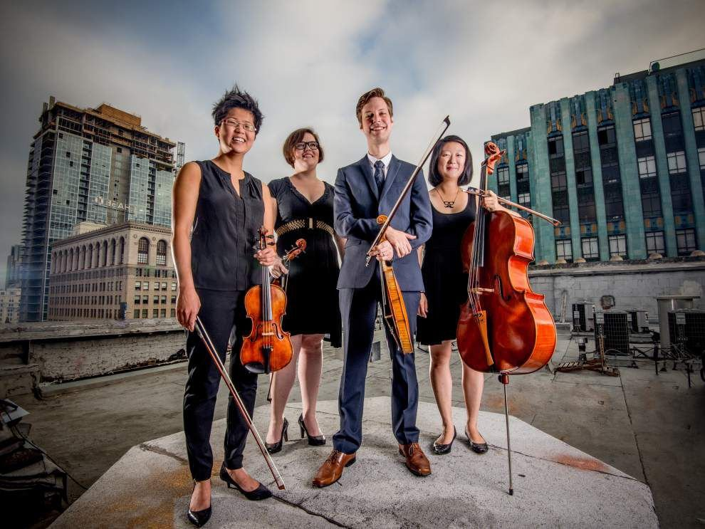 Argus Quartet a treat for chamber music lovers _lowres