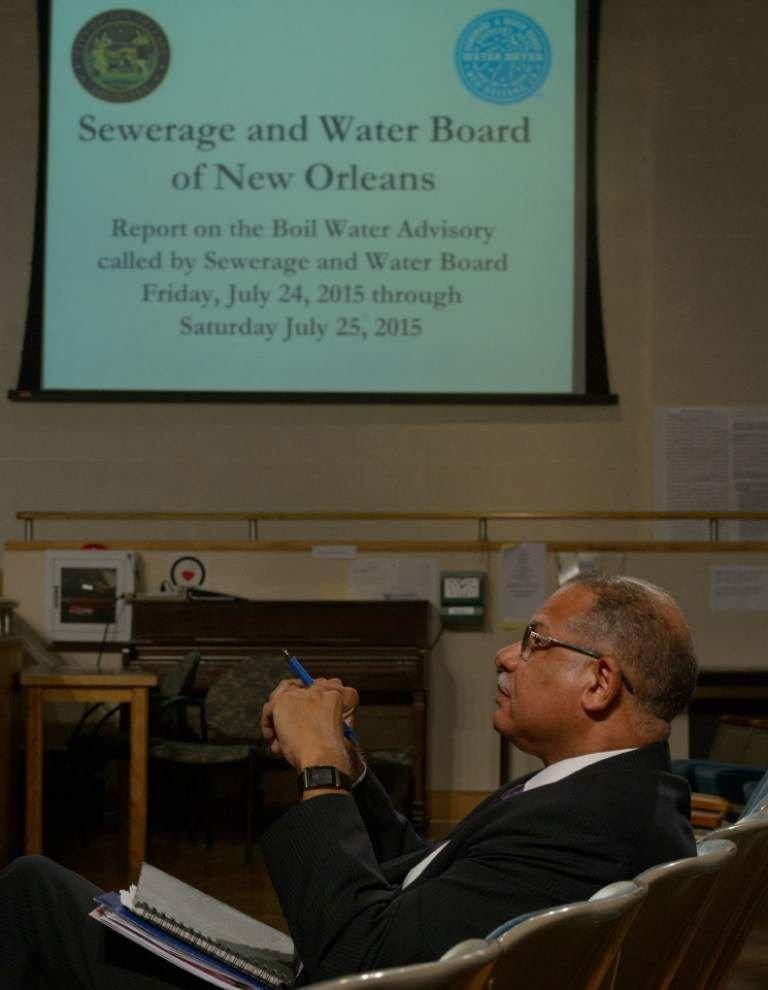 New Orleans City Council members berate water board officials over delay in issuing boil-water advisory _lowres
