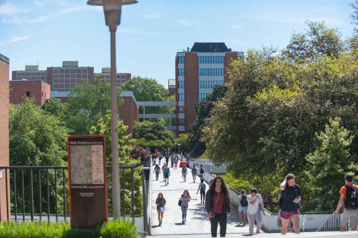 Clemson campus scene
