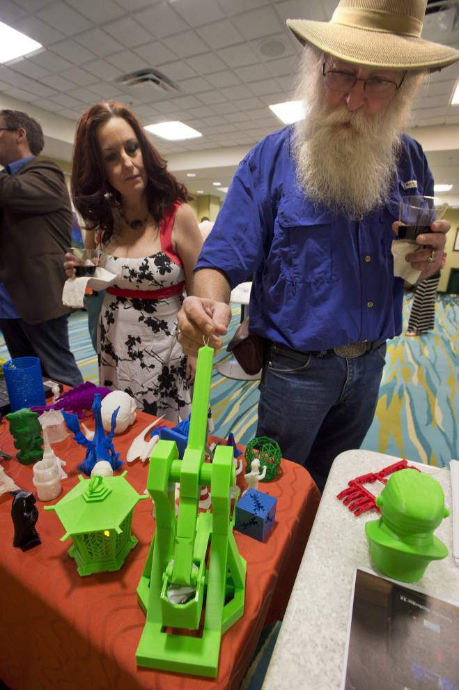 Photos: EBR Library's new 3-D printers _lowres