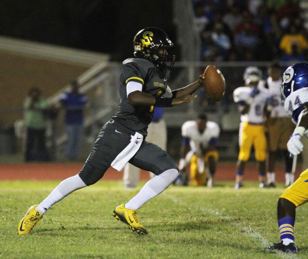 Photos: East Ascension can't claw past Scotlandville, U-High and West Feliciana score plenty in Baton Rouge-area Week 3 prep football _lowres