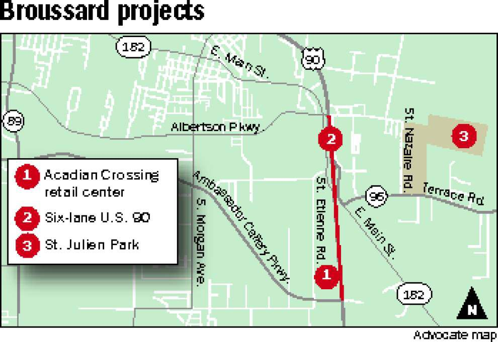 Money allocated for new roads, drainage near sites being developed in Broussard _lowres
