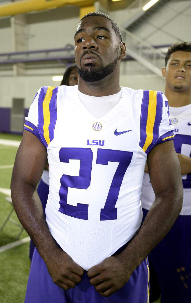 Kenny Hilliard says he still has job to do at LSU _lowres