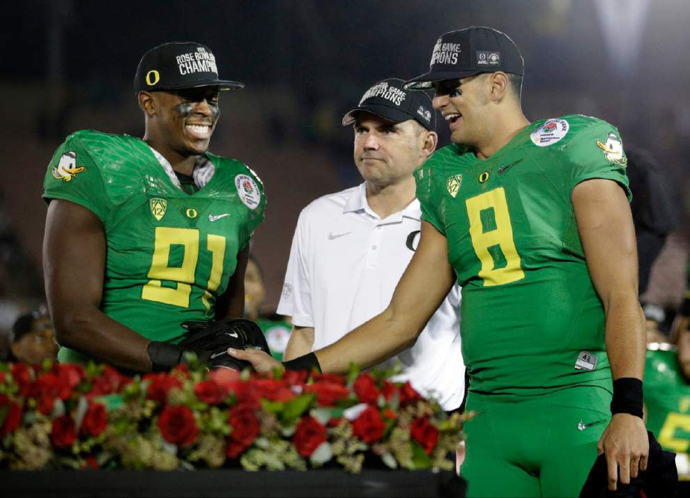 Rabalais: As the wins (and that Nike money) keeps rolling in, Oregon's building a Duck dynasty _lowres