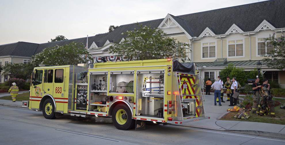 Ninety-three residents evacuated in two-alarm fire at Sunrise Senior Living in Baton Rouge _lowres