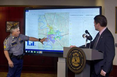 Video: New technology tracks crime, traffic reports in real time, to help Baton Rouge police coordinate response _lowres