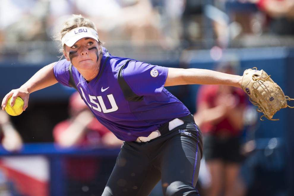 LSU notebook: Sandra Simmons' postseason power surge continues _lowres