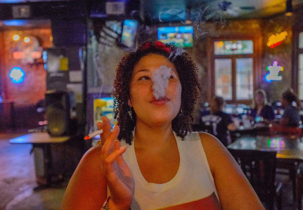 Starting today, smoking is banned in New Orleans bars and casinos _lowres