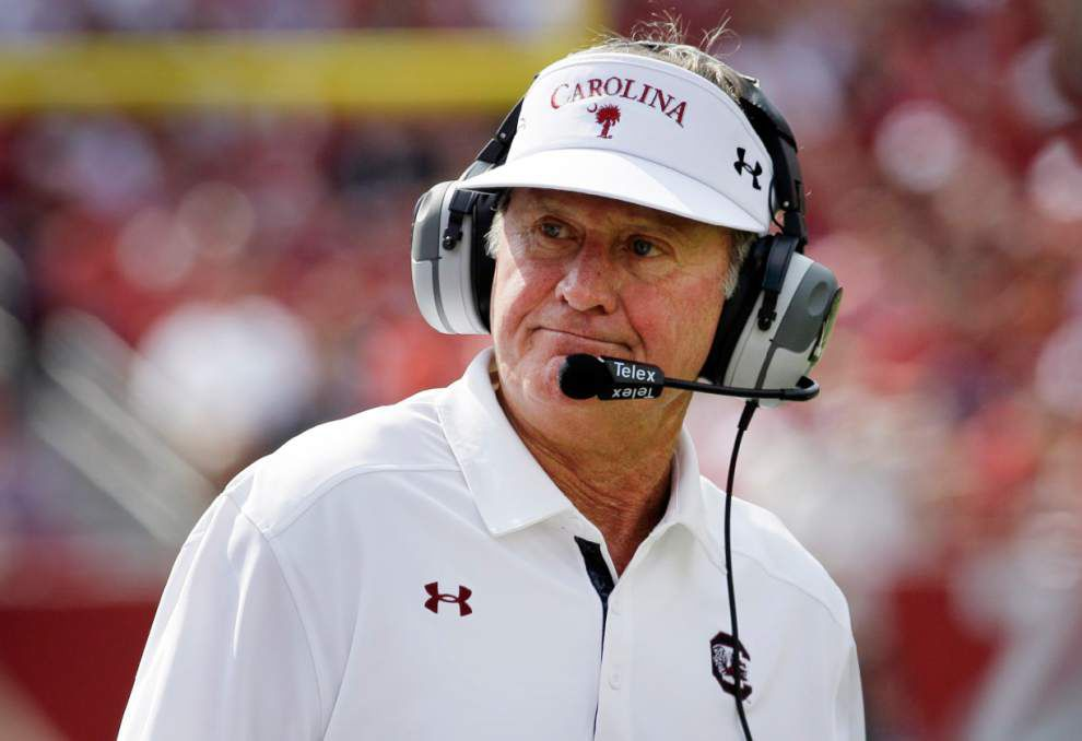 South Carolina coach Steve Spurrier turns to youth in secondary _lowres