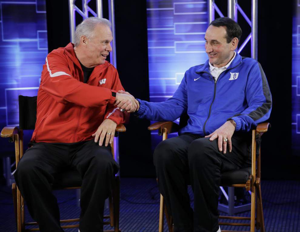 Giant-killer Wisconsin and young-but-talented Duke clash for NCAA men's basketball title _lowres