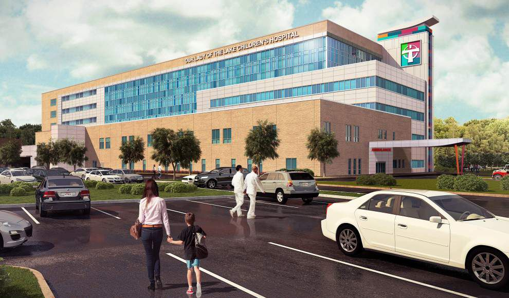 Construction starts on $230M Our Lady of the Lake Children's Hospital that 'will change the lives of Louisiana's children' _lowres
