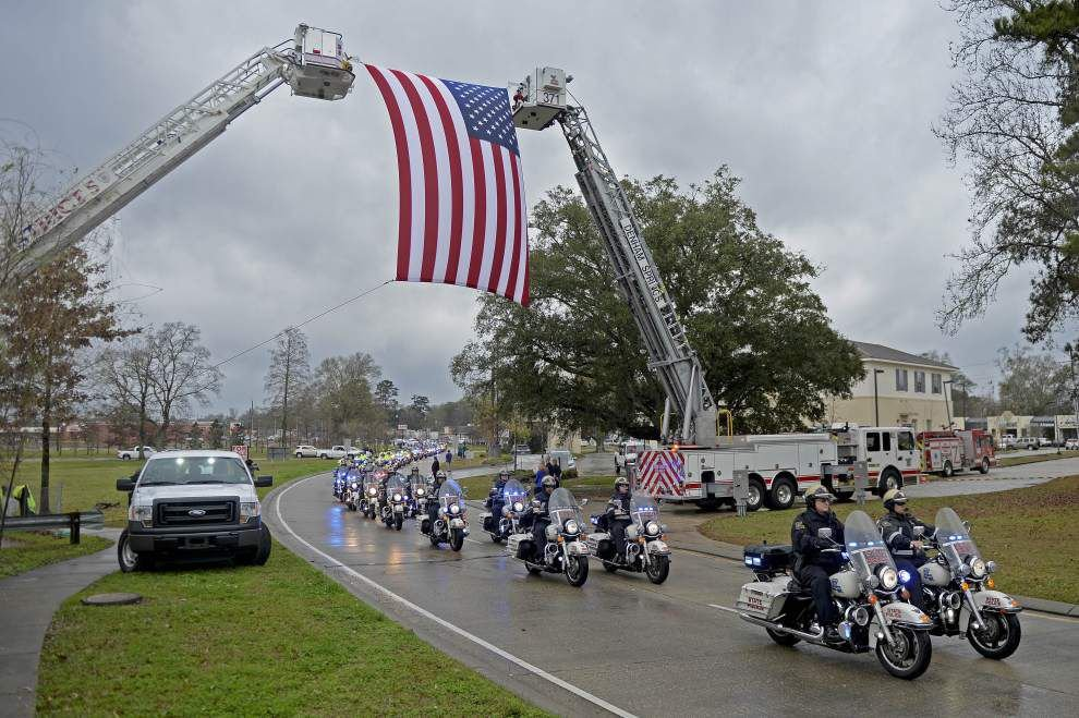 Photos: Ofc. James Foster Jr. funeral _lowres