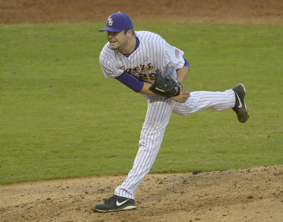 Jake Godfrey, young pitchers evolving in new roles as No. 1 LSU baseball heads down critical stretch _lowres