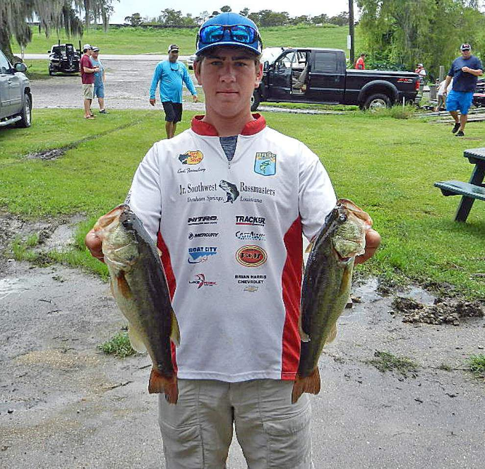 Bass fishing terrific in lower Terrebonne, but tickets being issued _lowres