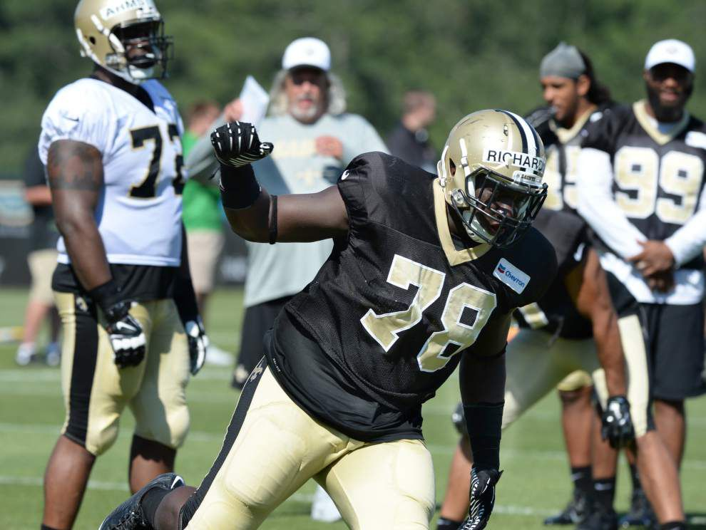 Change in defensive line scenery doesn't alter Saints defensive end Bobby Richardson's outlook _lowres