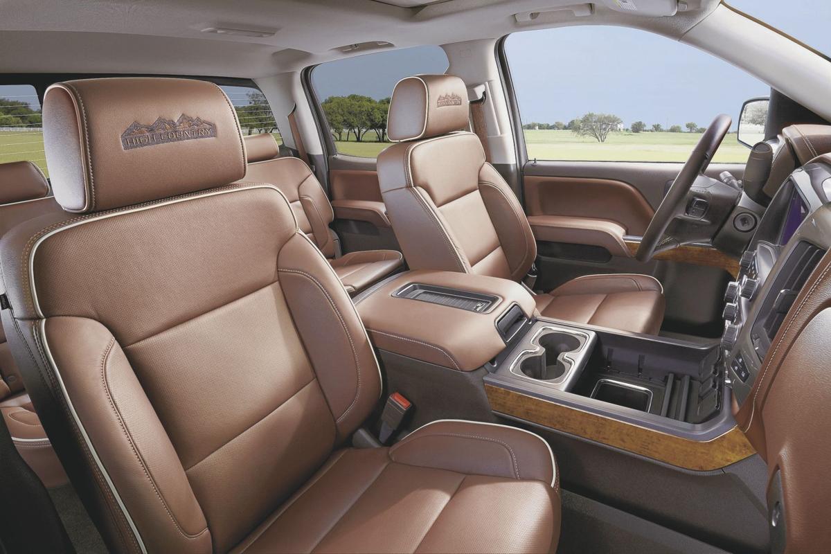 2016 Chevrolet Silverado High Country Crew Cab - Interior