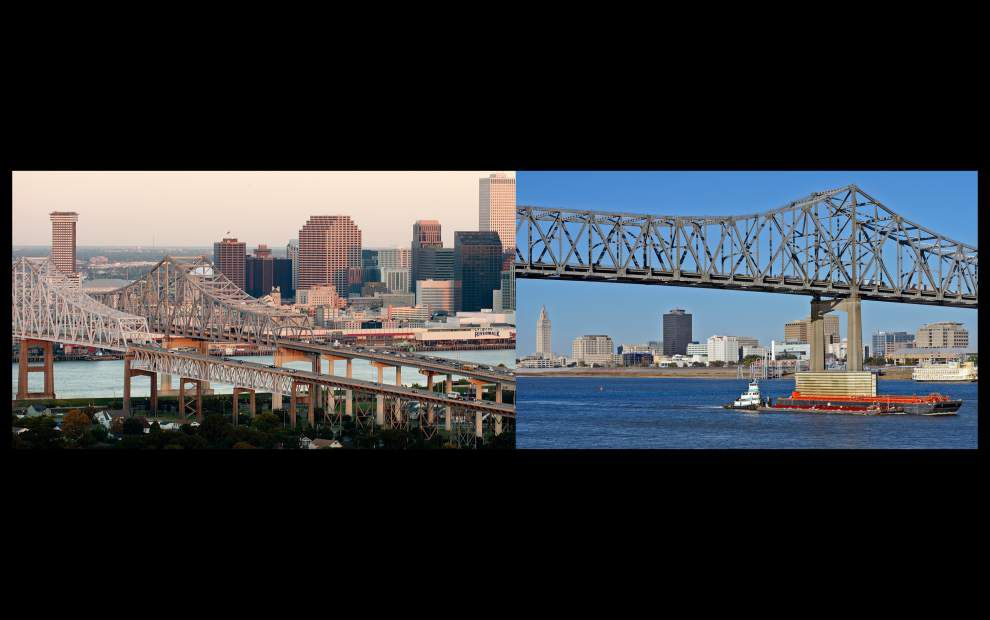 Sure they're rivals, but Baton Rouge, New Orleans leaders seek to become 'single metropolitan statistical area' _lowres