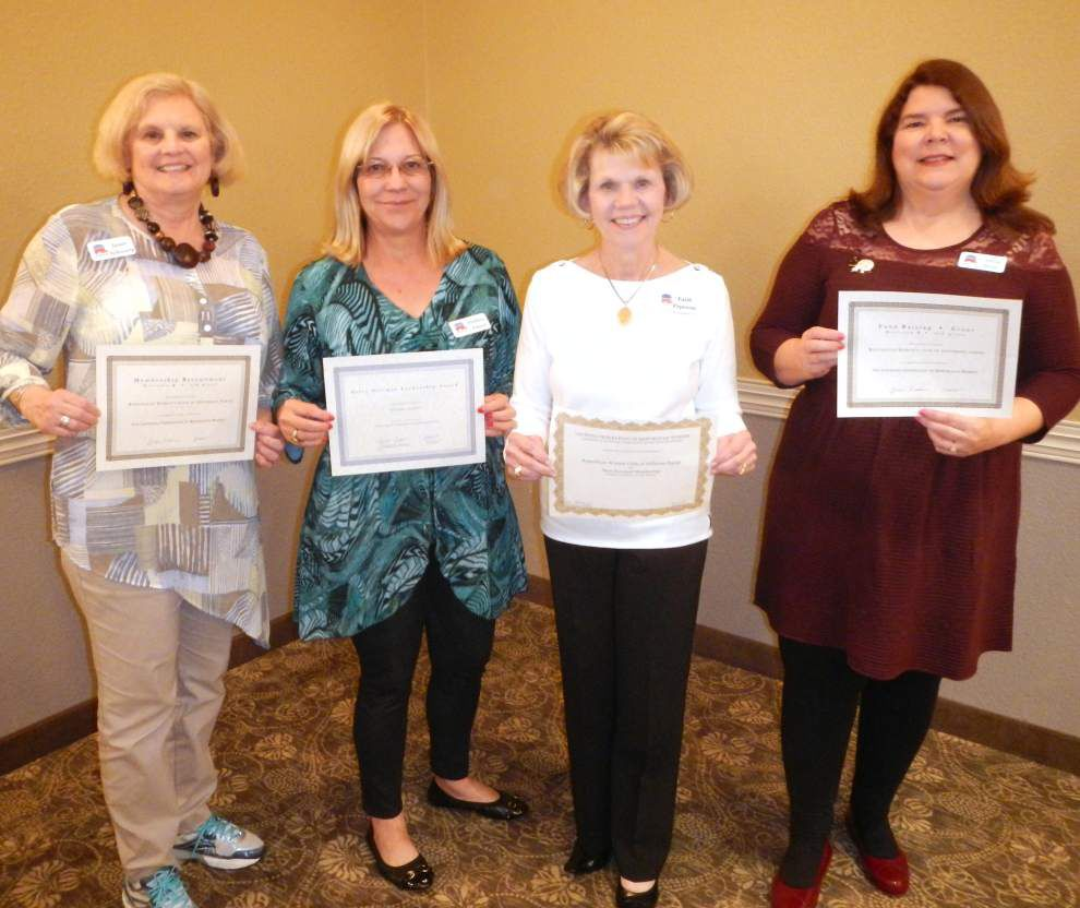 Jefferson Parish Republican women honored at state convention _lowres