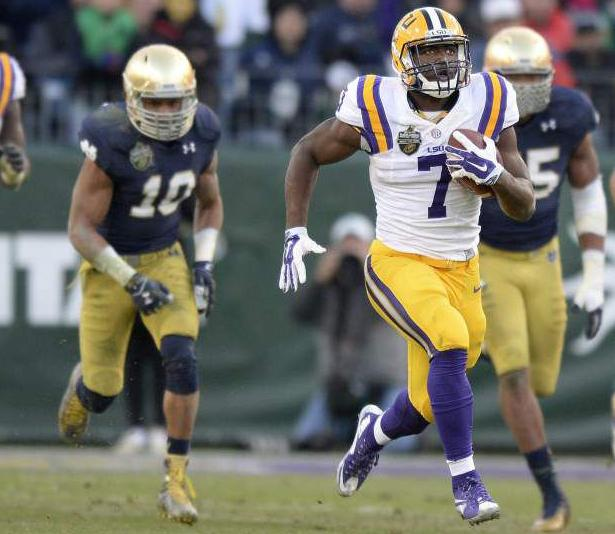 LSU's Leonard Fournette, celebrity daughter Lyric: How fatherhood transformed college football's best player _lowres