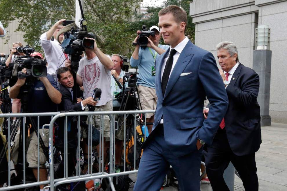 Judge lifts Tom Brady's four-game suspension; NFL promises 'Deflategate' appeal _lowres