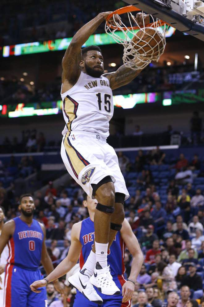 Pelicans slam Pistons to win for the fourth time in five games _lowres