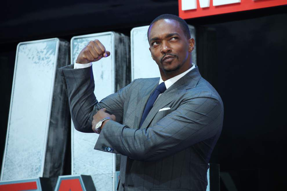 '504, baby!' Anthony Mackie shows some love for New Orleans on 'Late Show with Stephen Colbert' _lowres
