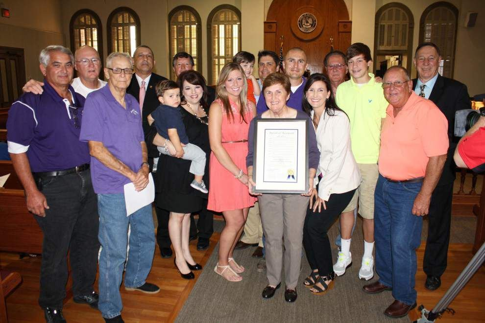 Coach Vice honored in Ascension Parish _lowres