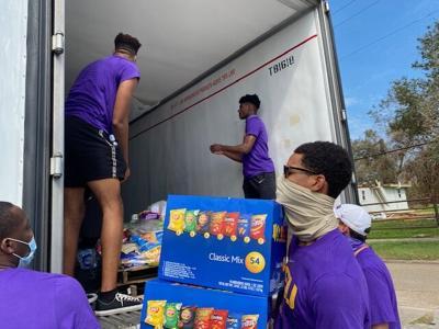 LSU basketball relief effort