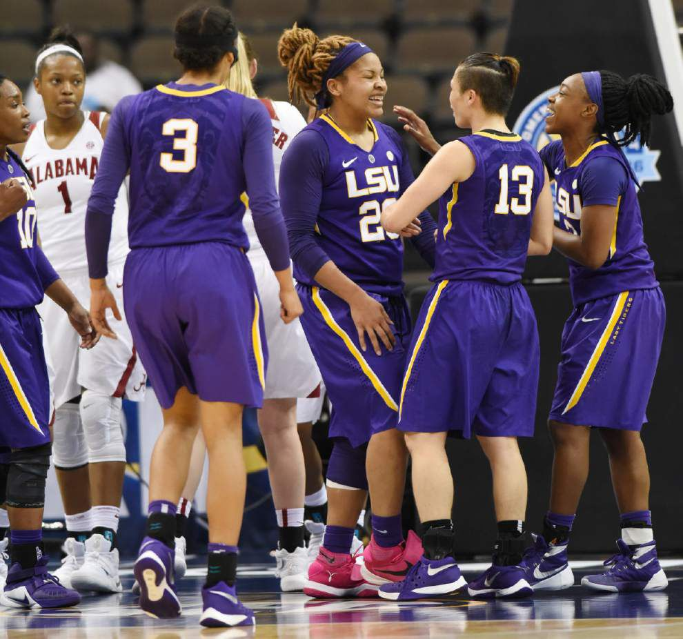 Lady Tigers topple Bama, advance to SEC 2nd round _lowres