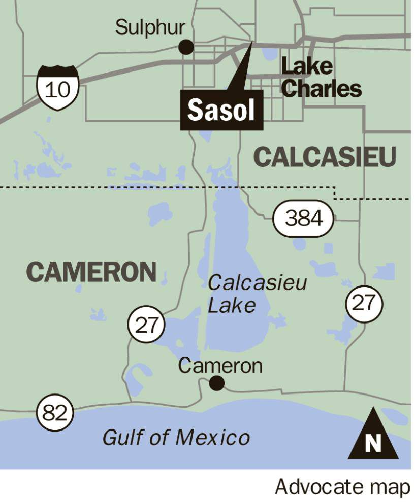 Price tag on Sasol's Lake Charles complex soars by $2 billion _lowres