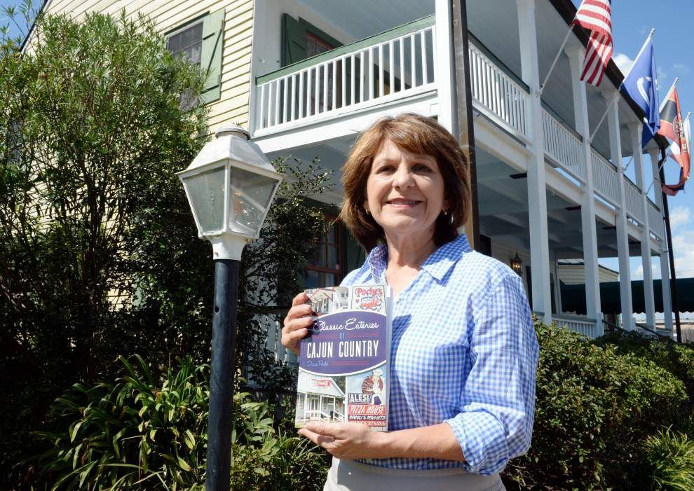 Dixie Poché honors old-time groceries, bakeries with new Cajun Country cookbook _lowres