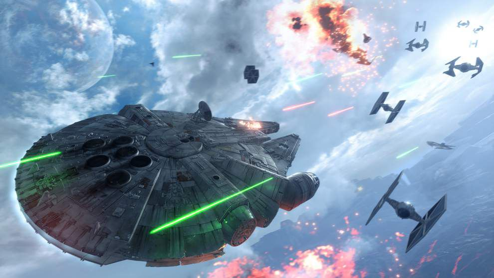 Review: 'Star Wars Battlefront' is shallow _lowres