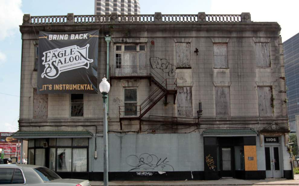 Historic Eagle Saloon on South Rampart Street could finally be on the road to restoration _lowres