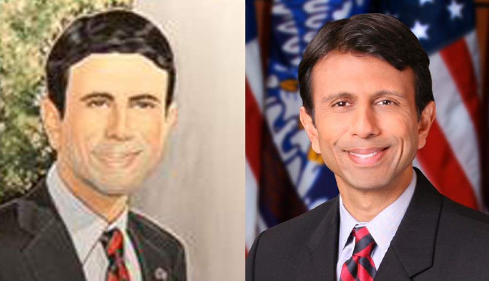 Bobby Jindal's chief of staff responds to criticism of governor's portrait, shoots down comment as 'race-baiting' _lowres