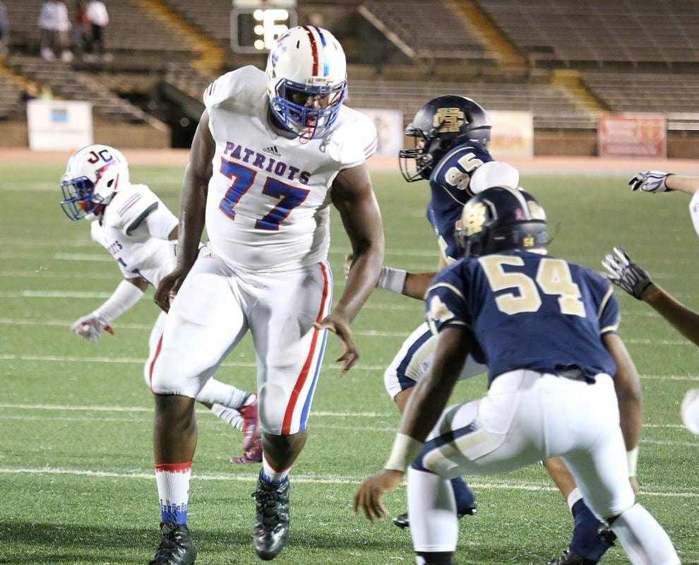 LSU football freshman Willie Allen working to be 'lean machine,' 'get like Hawk' _lowres
