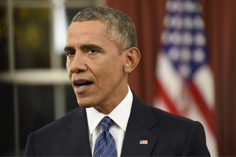 Analysis: President Obama offers reassurance, but little strategy in speech on terrorism _lowres