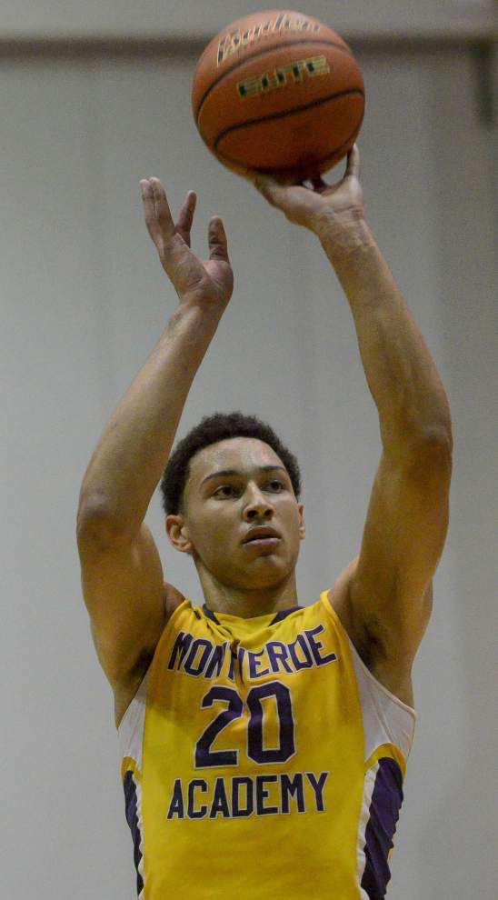 LSU signee Benny Simmons named Gatorade national player of the year _lowres