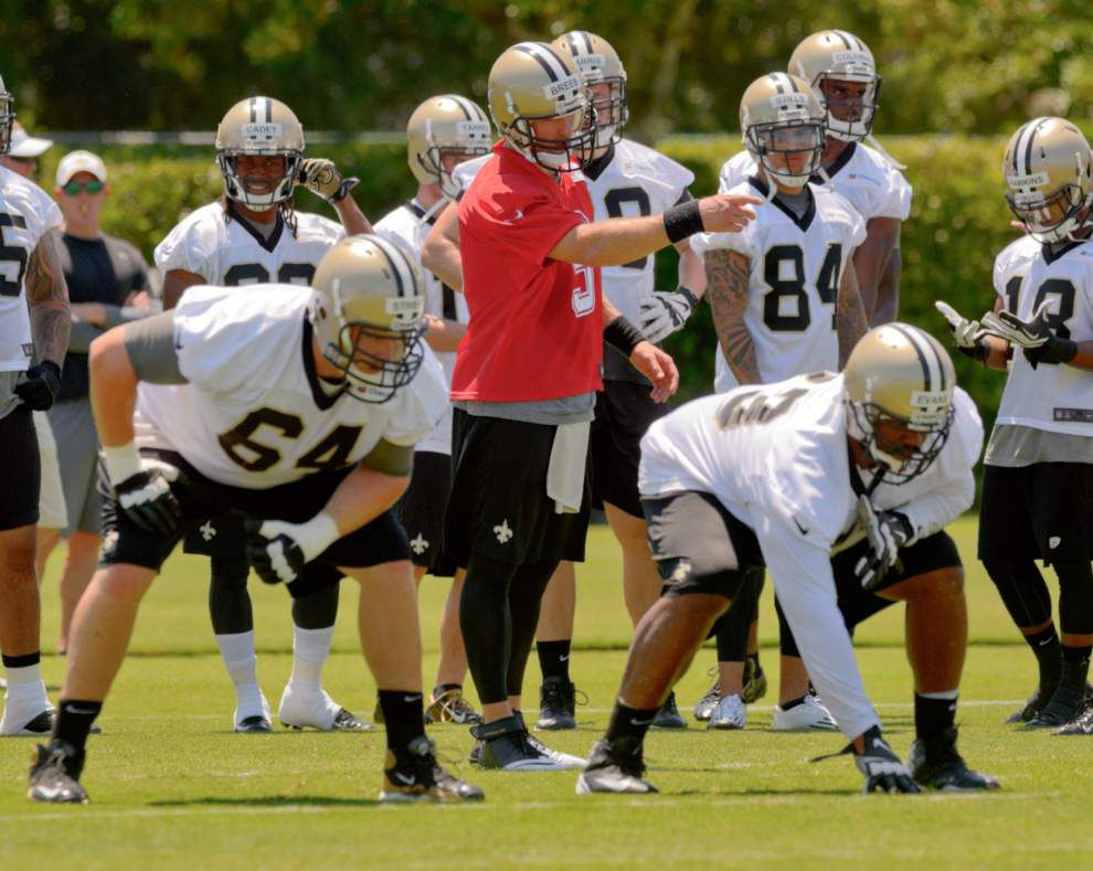 Minicamp observations: Saints first-team offense has rough start _lowres