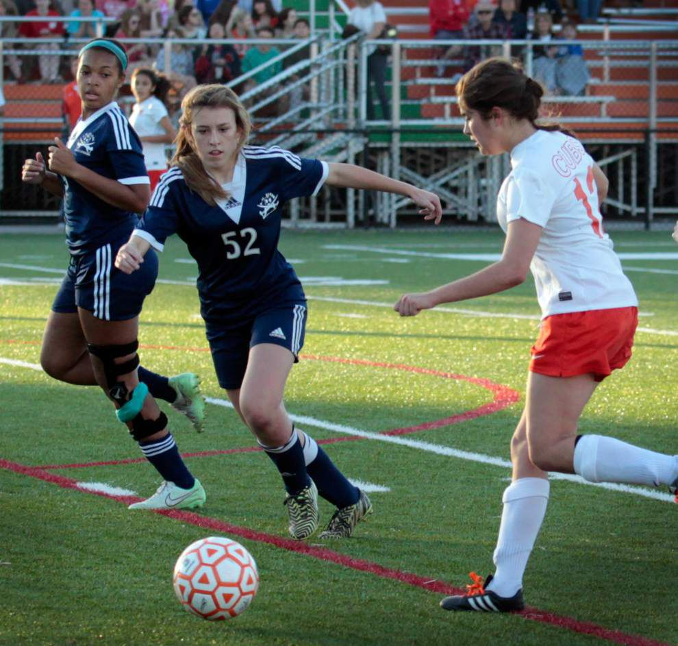 Mount Carmel tops Barbe; St. Scholastica falls to Byrd in girls soccer playoffs _lowres