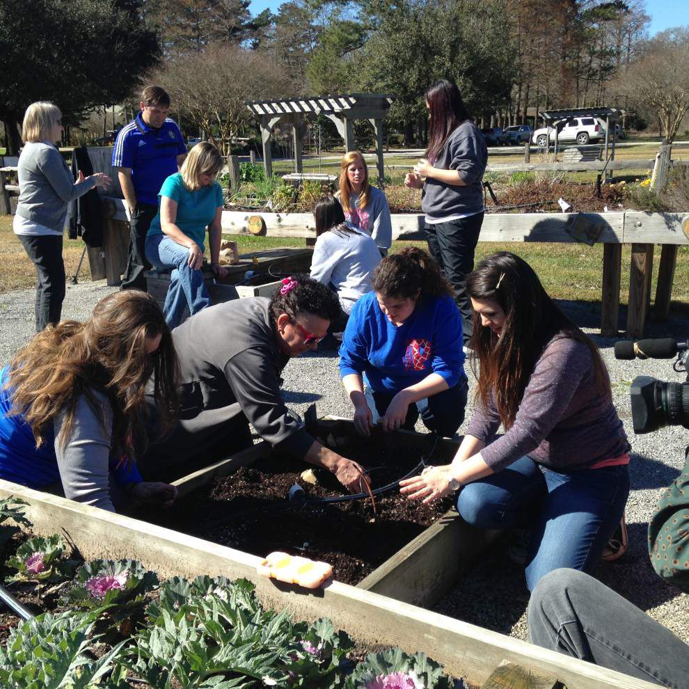 Teachers get training for garden projects _lowres