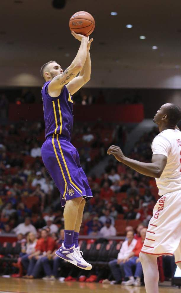 Keith Hornsby shines in his return, but LSU falls 105-98 in overtime at Houston for its 4th loss in the past 5 games _lowres
