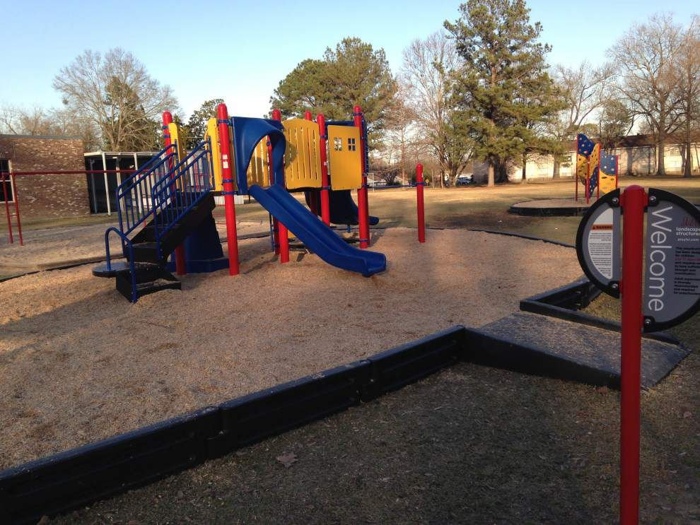 Working on the playground: LSU Community Playground Project works with schools, students to maximize play _lowres