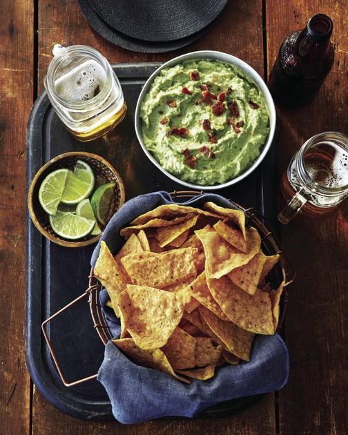 Side Dish: Recipe for Avocado Dip with Tortilla Chips