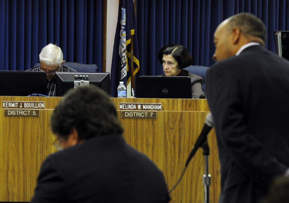 Lafayette School Board votes to fire Superintendent Pat Cooper _lowres